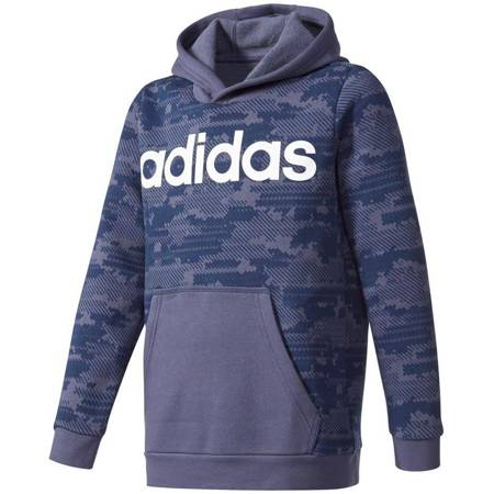 Bluza adidas Linear Hood JR  CE8860