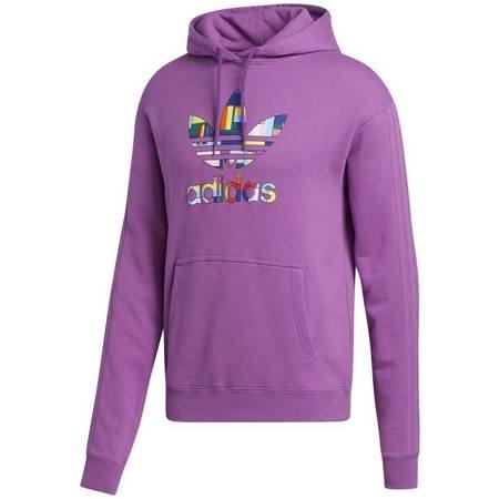 Bluza adidas Pride Flag Fill Hoody fioletowa GK8524