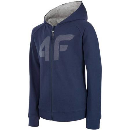 Bluza chłopięca 4F Junior HJZ18 JBLM003 granat