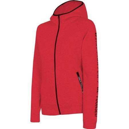 Bluza damska 4F czerwona H4L19 BLD004 62S