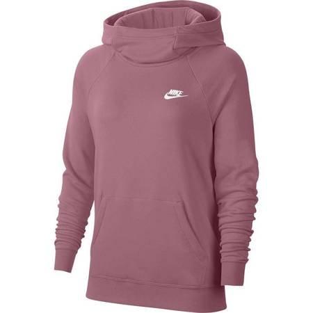 Bluza damska Nike Essentials Fnl Po Flc różowa BV4116 614