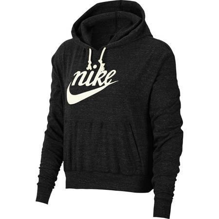 Bluza damska Nike Gym Vintage Hoodie Hbr czarna CJ1691 010