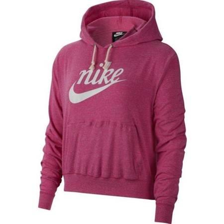 Bluza damska Nike Gym Vintage Hoodie Hbr różowa CJ1691 691