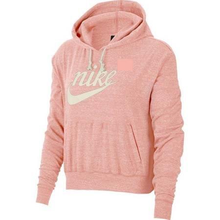 Bluza damska Nike Gym Vintage Hoodie Hbr różowa CJ1691 697