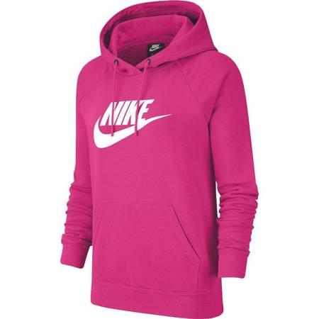 Bluza damska Nike Nsw Essential Hoodie różowa BV4126 617