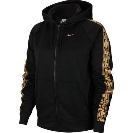 Bluza damska Nike Sportswear Logo Tape czarno-złota BV3447 011