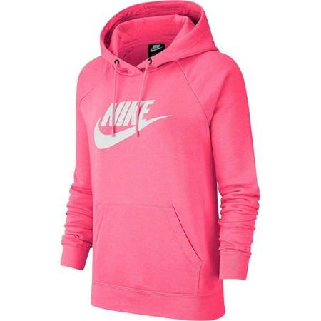 Bluza damska Nike W Essential Hoodie PO HBR różowa BV4126 674
