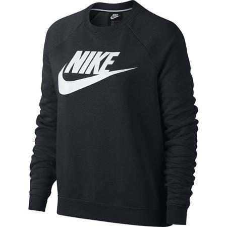 Bluza damska Nike W Rally Crew HBR czarna 930905 010