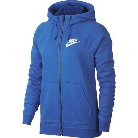 Bluza damska Nike W Rally Hoodie FZ niebieska 930909 403