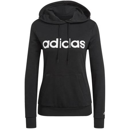 Bluza damska adidas Essentials Hoodie czarna GL0635