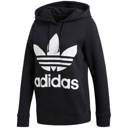 Bluza damska adidas Trefoil Hoodie czarna CE2408