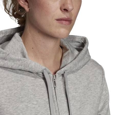 Bluza damska adidas W Essentials Linear FZ HD szara EI0663