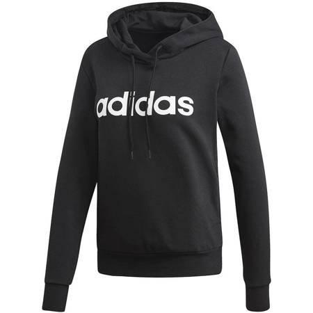 Bluza damska adidas W Essentials Linear OH HD FK czarna DP2364