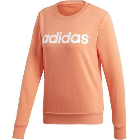 Bluza damska adidas W Essentials Linear Sweat koralowa EI0679