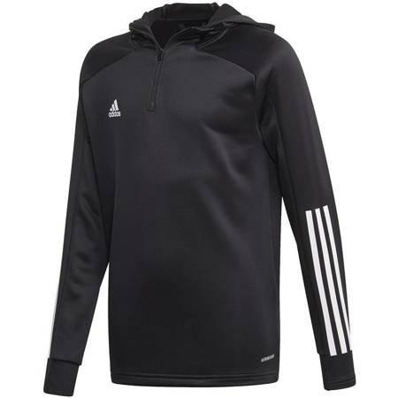 Bluza dla dzieci adidas Condivo 20 Track Hood czarna EK2958