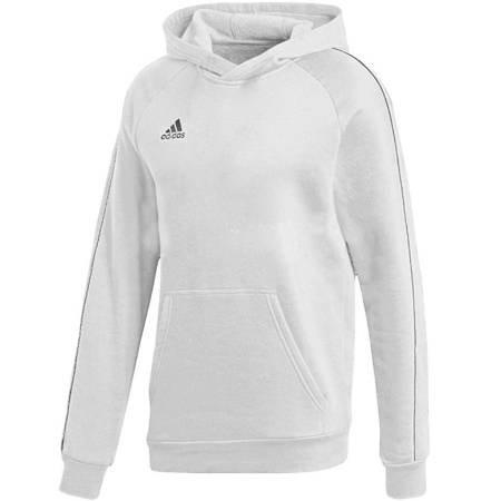 Bluza dla dzieci adidas Core 18 Hoody JR biała FS1891