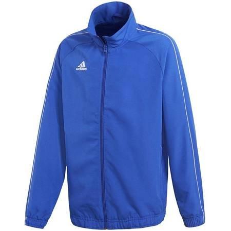 Bluza dla dzieci adidas Core 18  Presentation Jacket JUNIOR niebieska CV3688