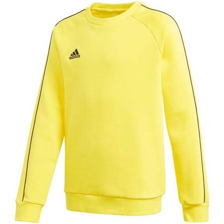 Bluza dla dzieci adidas Core 18 Sweatshirt żółta FS1899