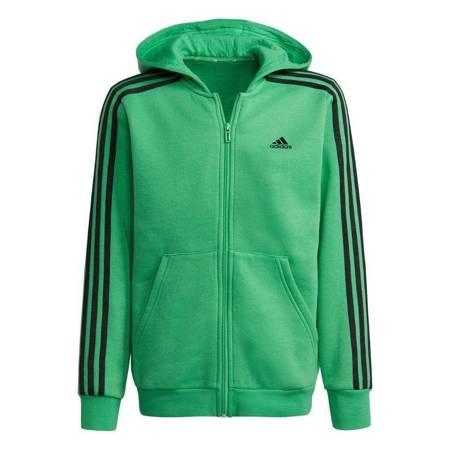 Bluza dla dzieci adidas Essentials 3-Stripes zielona GS4301