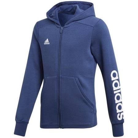 Bluza dla dzieci adidas Linear Full Zip Hoodie JR CF7238