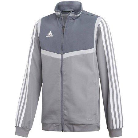 Bluza dla dzieci adidas Tiro 19 Presentation Jacket JUNIOR szara DW4789