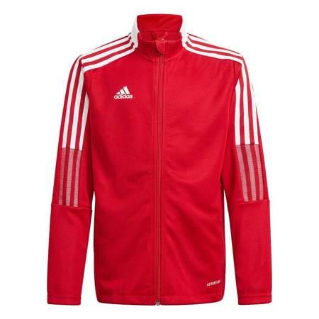 Bluza dla dzieci adidas Tiro 21 Track czerwona GM7312