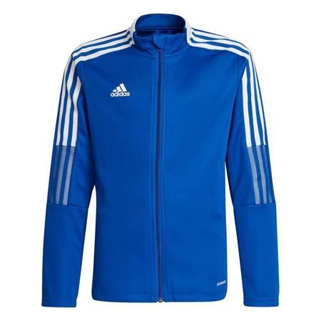Bluza dla dzieci adidas Tiro 21 Track niebieska GM7315