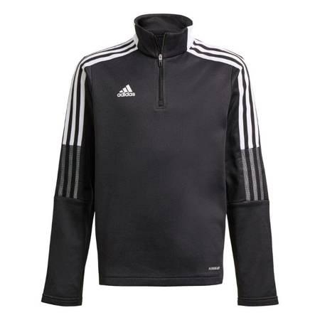 Bluza dla dzieci adidas Tiro 21 Warm Top Youth czarna GM7366