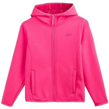 Bluza dla dziewczynki 4F fuksja HJL20 JPLD001 55S