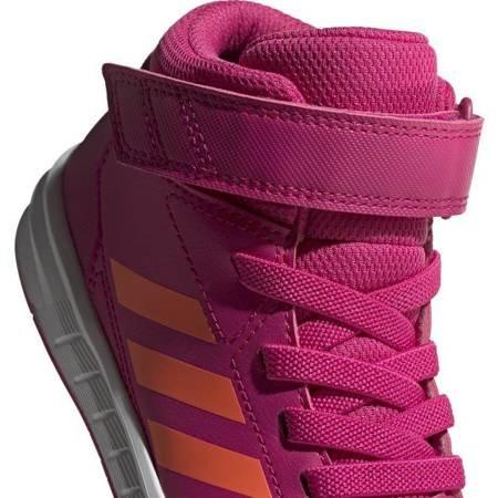 Buty dla dzieci adidas Altasport Mid K różowo pomarańczowe G27121