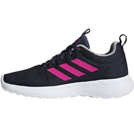 Buty dla dzieci adidas Lite Racer CLN K granatowo-różowe BB7045