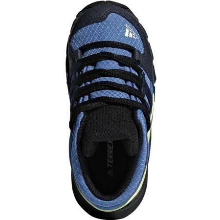 Buty dla dzieci adidas Terrex Mid GTX I niebiesko limonkowe D97655