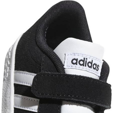 Buty dla dzieci adidas VL Court 2.0 CMF I czarne DB1833