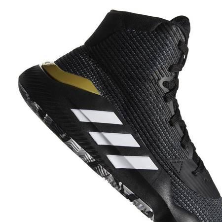 Buty męskie adidas Pro Bounce 2019 czarno białe F97282