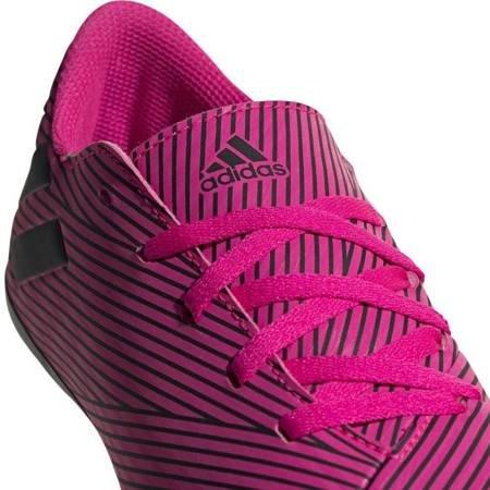 Buty piłkarskie adidas Nemeziz 19.4 FxG JUNIOR różowe F99949
