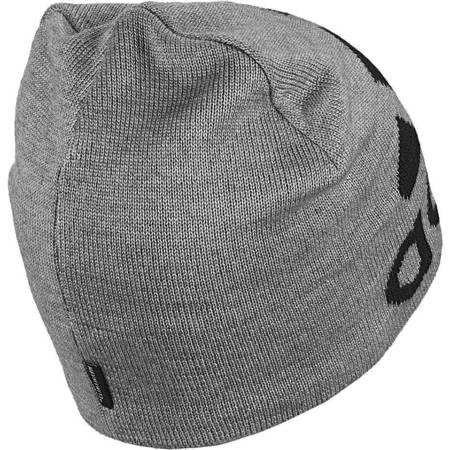 Czapka męska adidas Big Logo Beanie Climawarm OSFL szara DZ8941