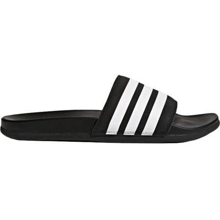 Klapki adidas Adilette Cloudfoam Plus Stripes czarne AP9971