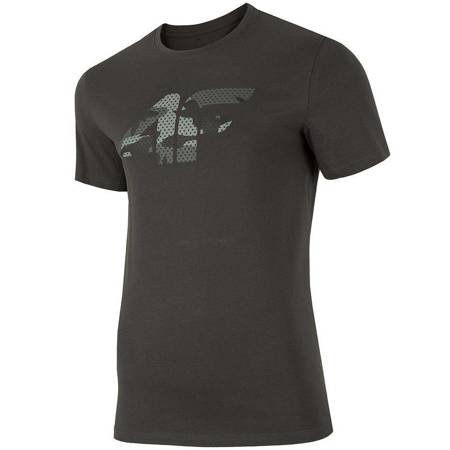 Koszulka męska 4F ciemny szary H4Z19 TSM077 23S