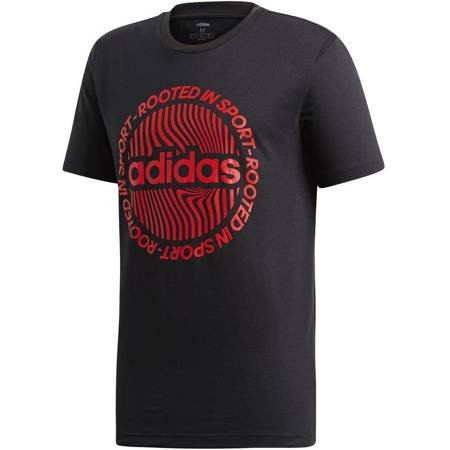 Koszulka męska adidas M CRCLD GRFX T czarna EI4610