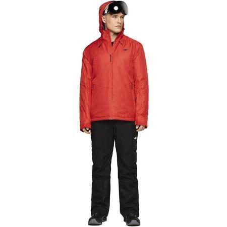 Kurtka narciarska męska 4F czerwona H4Z19 KUMN001 62S