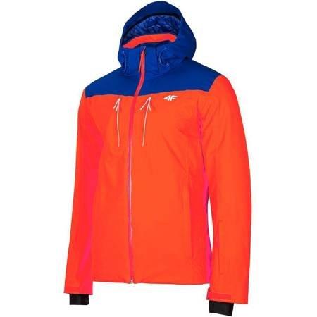 Kurtka narciarska męska 4F pomarańczowa H4Z19 KUMN009 33S