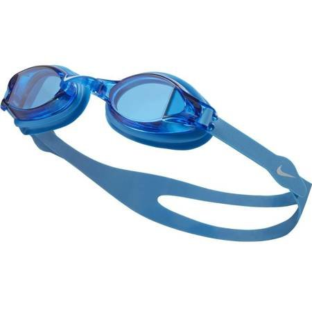 Okulary pływackie Nike Os Chrome niebieskie N79151-458