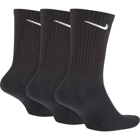 Skarpety Nike Everyday Cushioned Crew 3 pary czarne SX7664 010