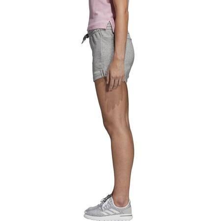 Spodenki damskie adidas Essentials Solid szare DU0675
