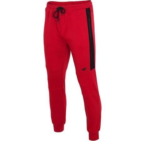 Spodnie męskie 4F czerwone H4Z19 SPMD070 62S